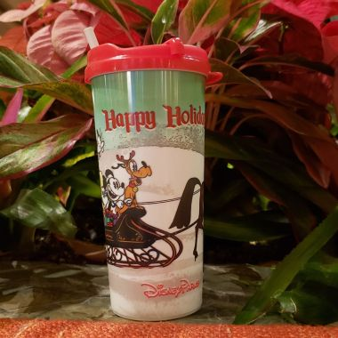 Disney Resort Holiday Refillable Mug