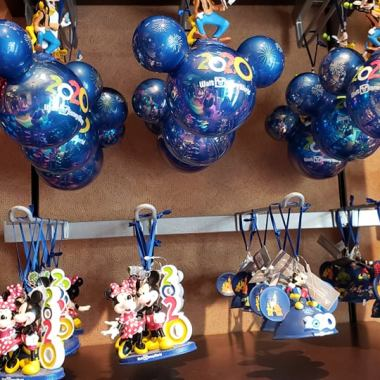 Disney Parks 2020 Ornaments