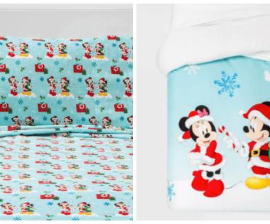 Christmas Mickey Bedding Set