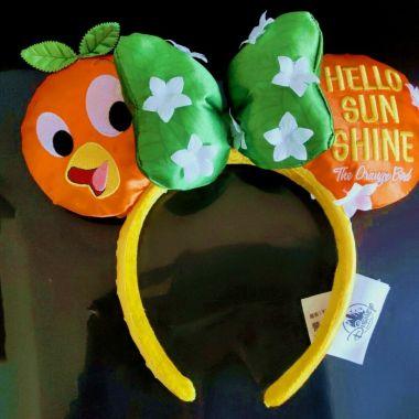 Orange Bird Minnie Ears