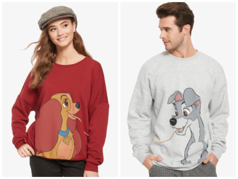 Disney Cats And Dogs Sweatshirts