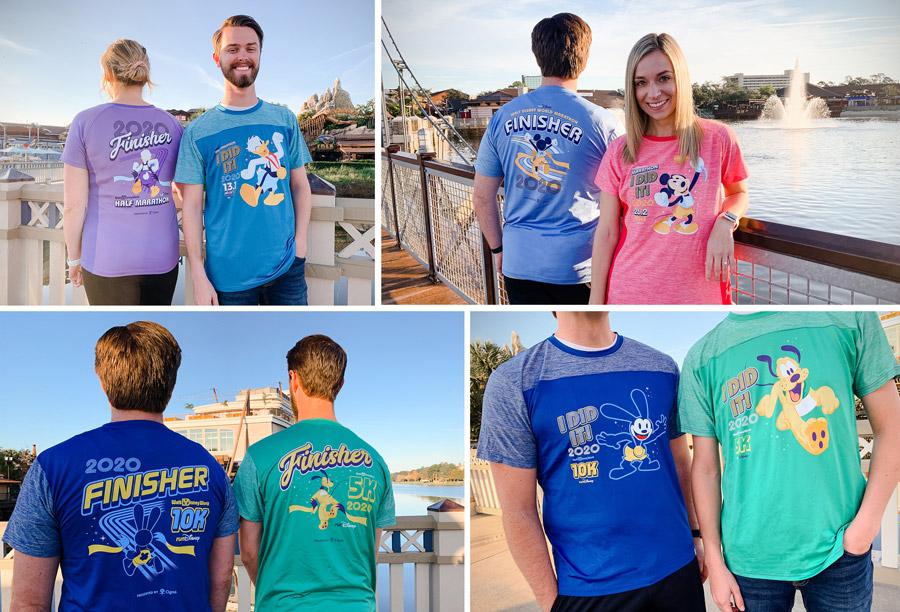 2020 WDW Marathon Merchandise