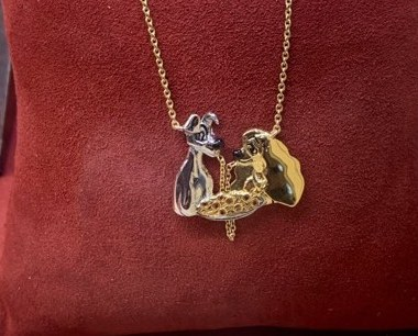 Lady and the Tramp Necklace