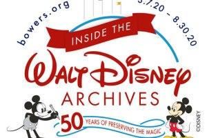 Inside The Walt Disney Archives Exhibit