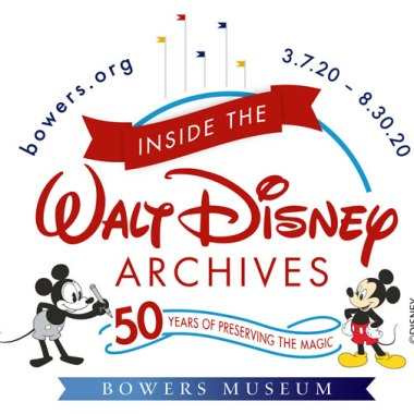 Inside The Walt Disney Archives Exhibit