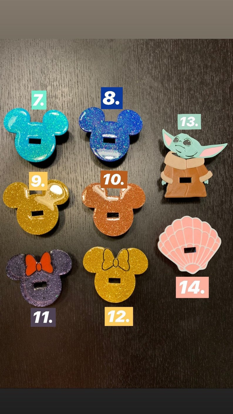 Disney Phone Charger Charms