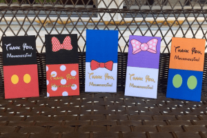 Fab Five Mousekeeping Envelopes