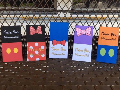 Fab Five Mousekeeping Envelopes