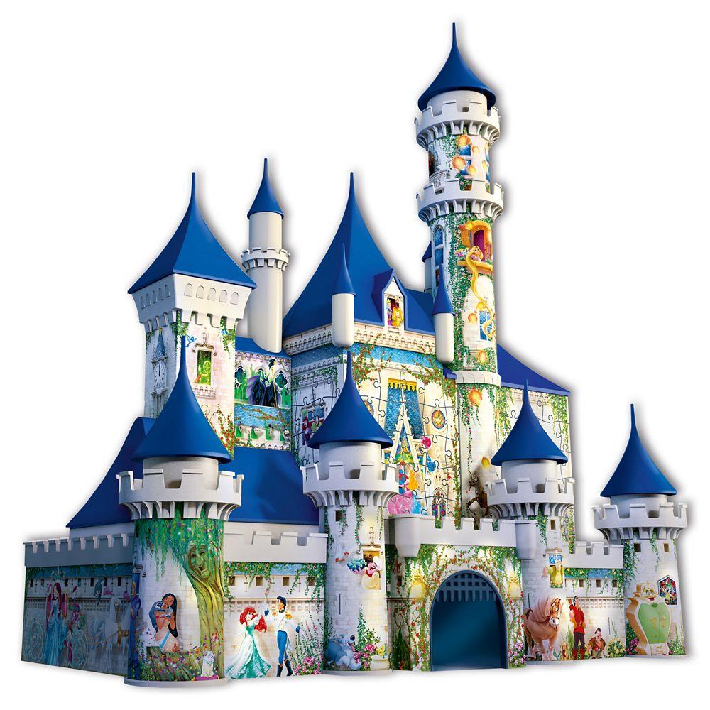 3D Disney Castle