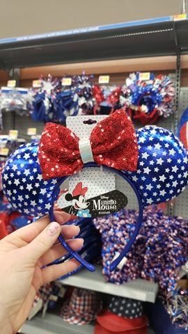 Patriotic Minnie Ears
