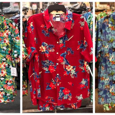 Disney Tropical Button Down Shirts