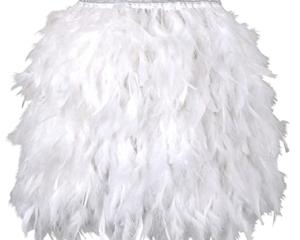 White Feather Skirts