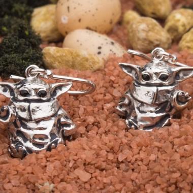 Baby Yoda Earrings