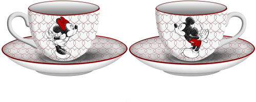 Mickey And Minnie Tea Set
