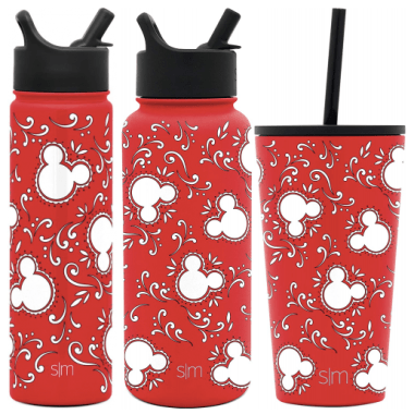 Mickey Bandana Stainless Steel Bottle