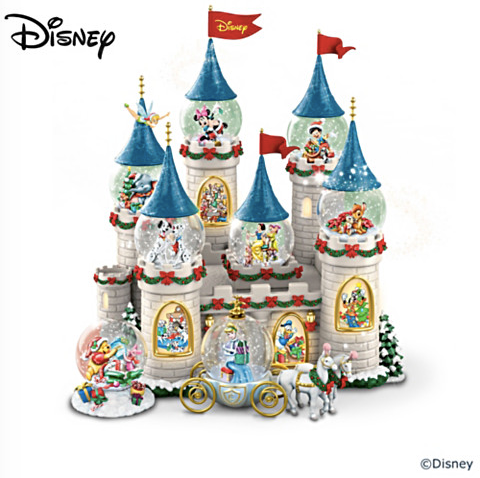 Disney Snowglobe Set