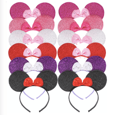 Minnie Ears Set Of 12