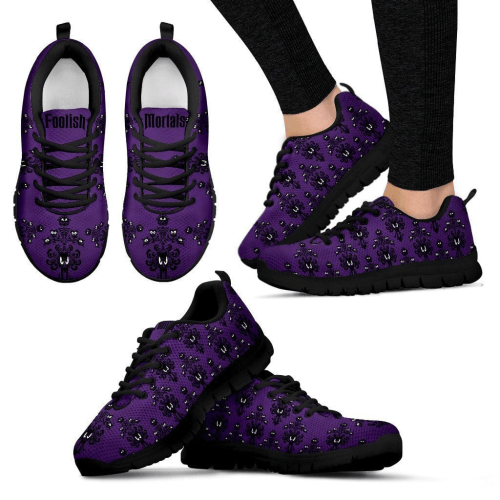 Haunted Mansion Wallpaper Sneakers