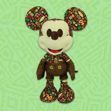 Tiki Mickey Mouse Plush