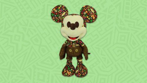 Tiki Mickey Mouse Plush