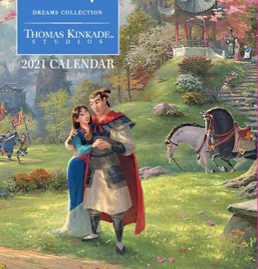 2021 Thomas Kinkade Disney Planner