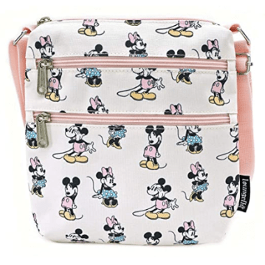 Pastel Mickey and Minnie Loungefly Crossbody