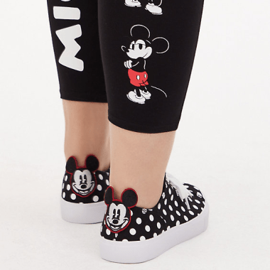 Polka Dot Mickey Sneakers