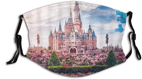 Disney Castle Face Mask