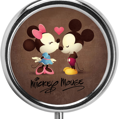 Mickey And Minnie Pill Box
