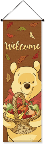 Winnie The Pooh Welcome Banner