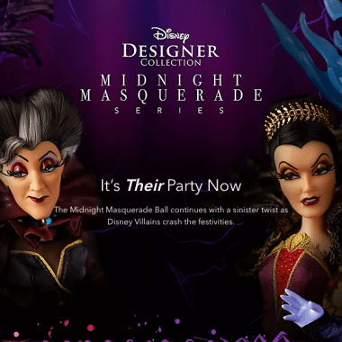 Disney Villains Midnight Masquerade