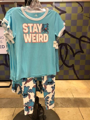 Stitch Tee And Leggings