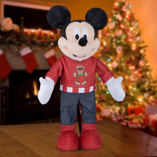 Holiday Greeter Mickey Mouse