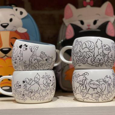 Disney Cats And Disney Dogs Mugs