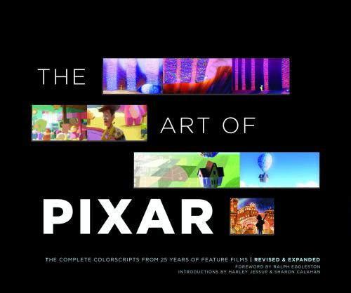 Pixar Colorscripts Book