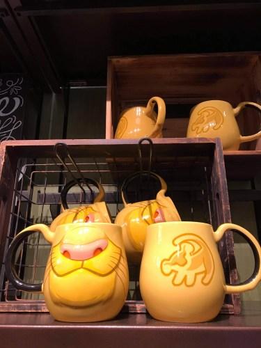 Disney Character Face Mugs