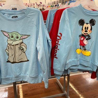 Disney Character Sweatshirts