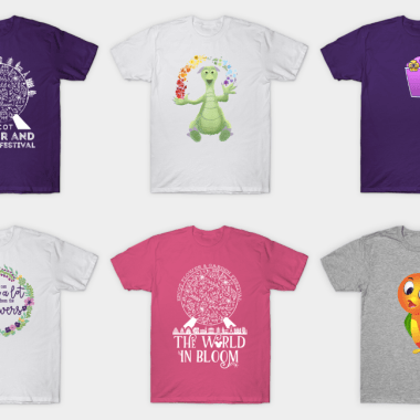 Magical Flower And Garden Tees
