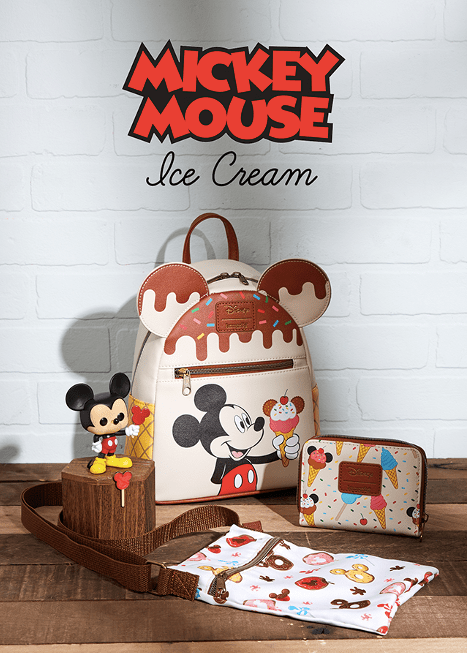 Mickey Ice Cream Loungefly Collection