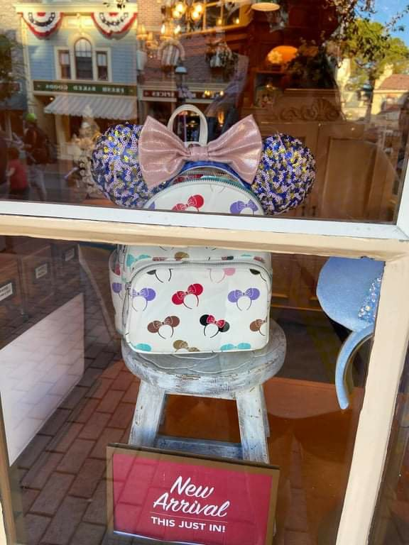 Minnie ears loungefly backpack