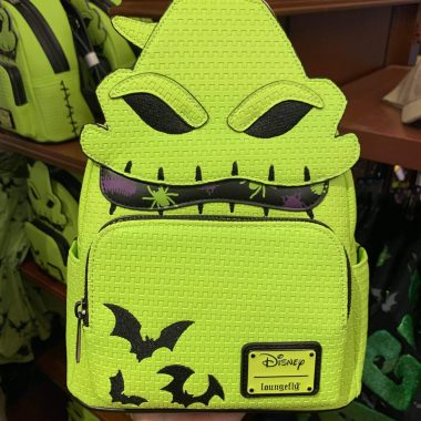 Oogie Boogie Ears and Loungefly