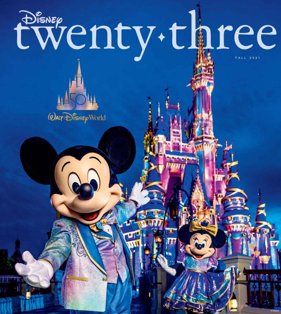 Disney twenty-three Issue