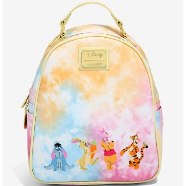 Pooh and Friends Tie-Dye Backpack