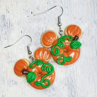 Handmade Mickey Pumpkin Accessories