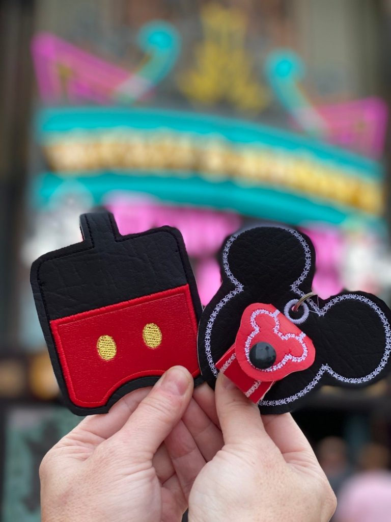 Ear and hand sanitizer holders