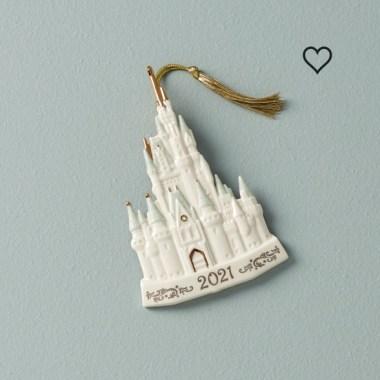 Elegant Disney Christmas ornaments