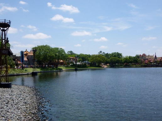 La Cantina provides a great view of the World Showcase.
