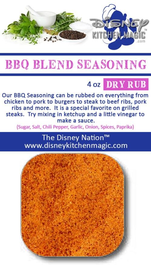 bbq blend seasoning meat pork chicken steak