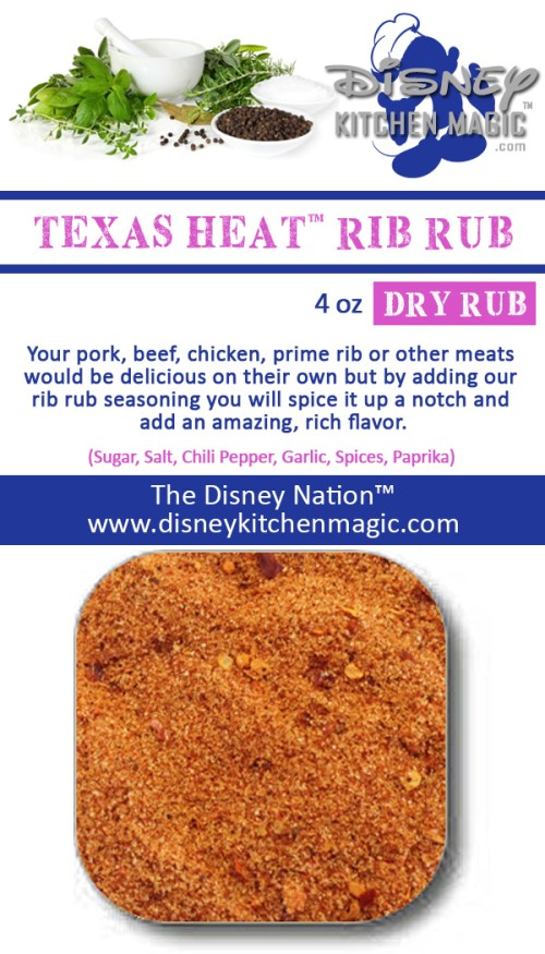 Texas Heat™ Rib Rub Seasoning Pork