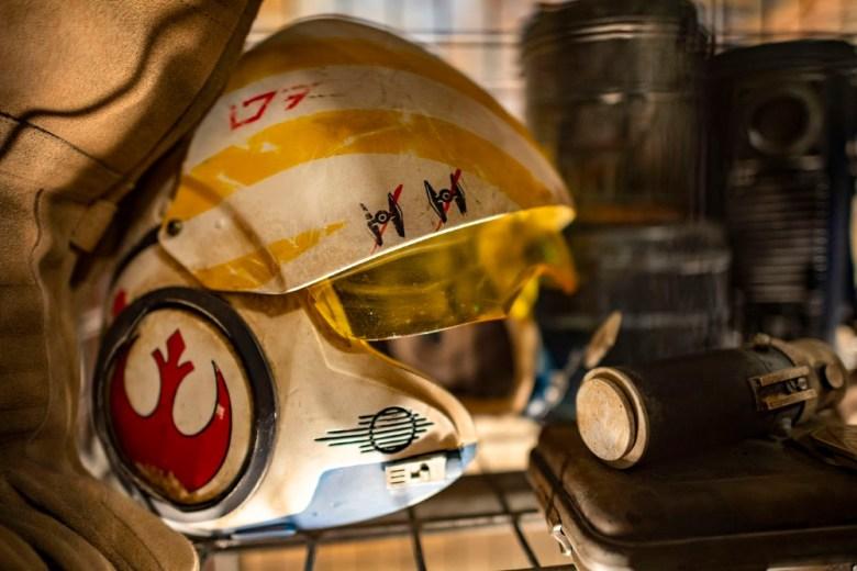 Casco de la resistencia en Disneylandia